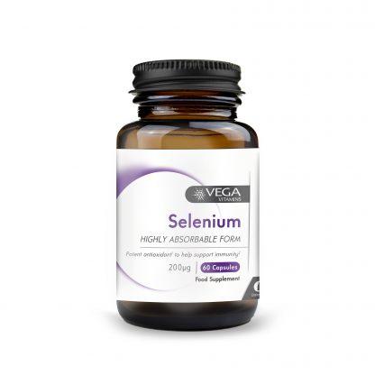 Selenium 60 capsules bottle
